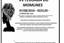 XV FEIJOADA DO MOMUNES !!! DIA 07/08/2016