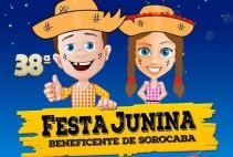 BARRACA DO MOMUNES NA FESTA JUNINA DA CIDADE DE SOROCABA
